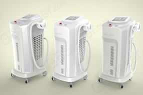 808 diode laser machine for dark skin